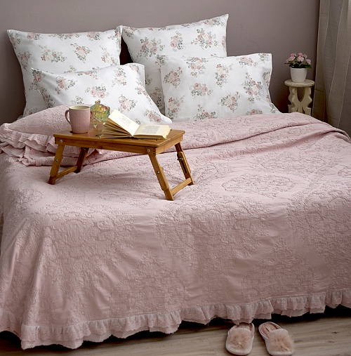 Покрывало Provence Lux French Pink